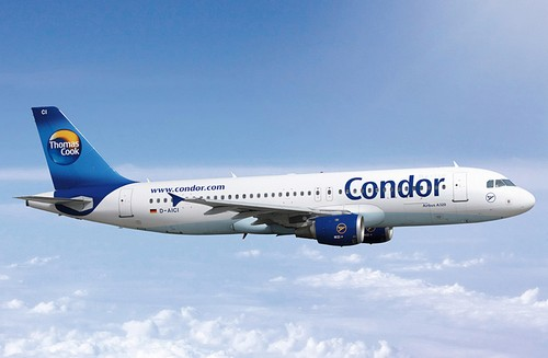 Самолет Condor Airlines